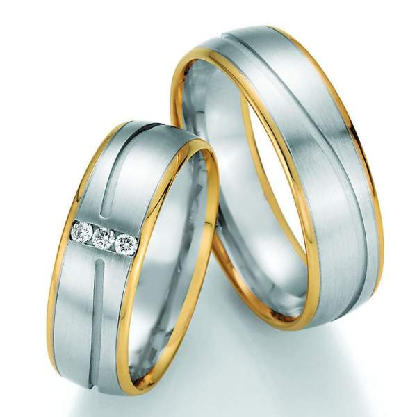 Trauringe Gold Honeymoon Variation Brillant 66-40170