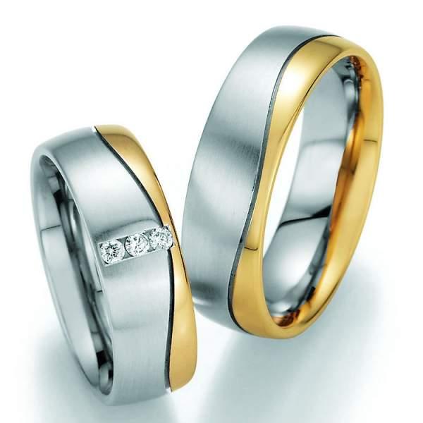 Trauringe Gold Honeymoon Variation Brillant 66-40070