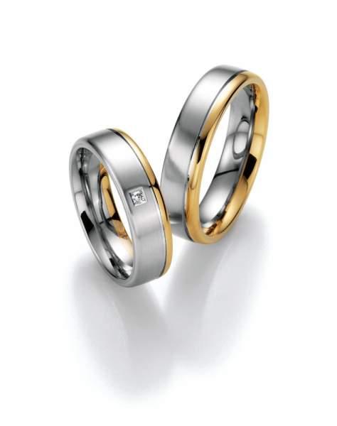 Trauringe Gold Honeymoon Premium Brillant 02-40370