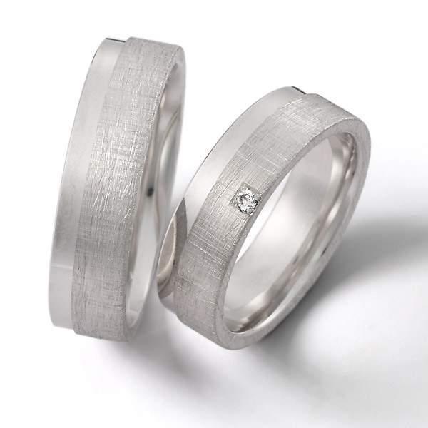 Verlobungsringe Silber Brillant Weidner 62170