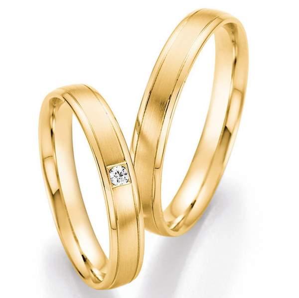 Trauringe Gold Honeymoon Pure Brillant 66-41070_GG