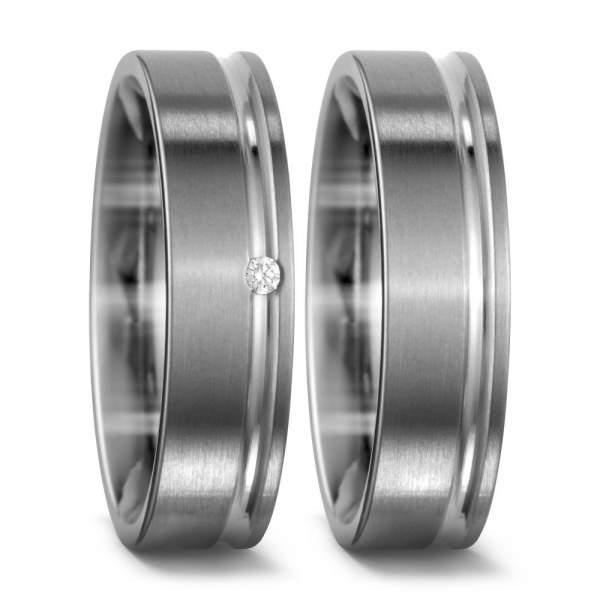 Verlobungsringe Brillanten Titan Factory 51422