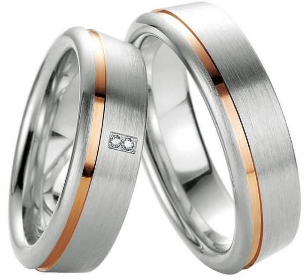 Verlobungsringe Silber Brillant Breuning 48/08029