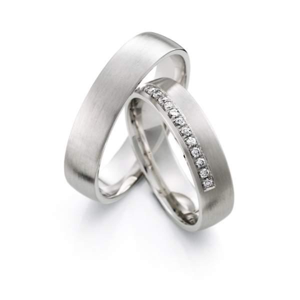 Verlobungsringe Silber Brillant Weidner 62626