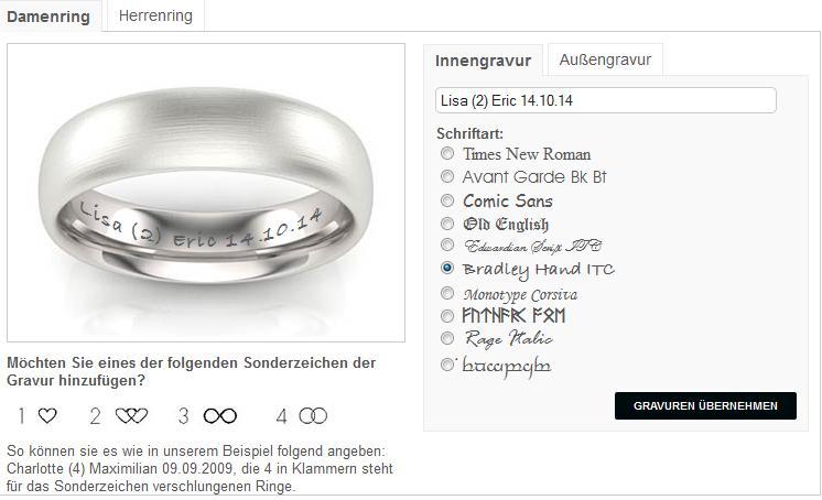 Innengravur von TrauringShop24.de