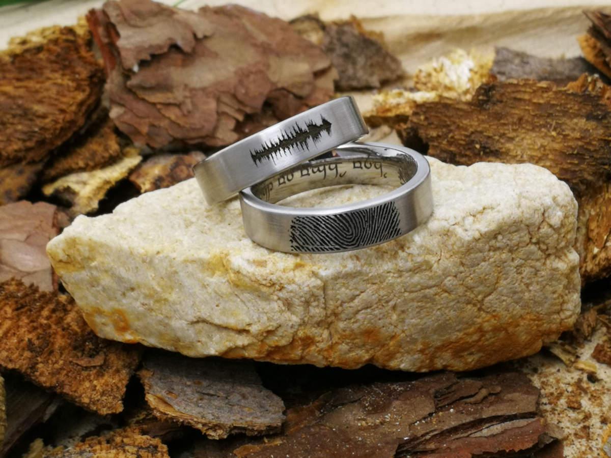Verlobungsringe in Silber