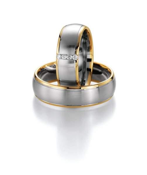Trauringe Gold Honeymoon Premium Brillant 02-40490