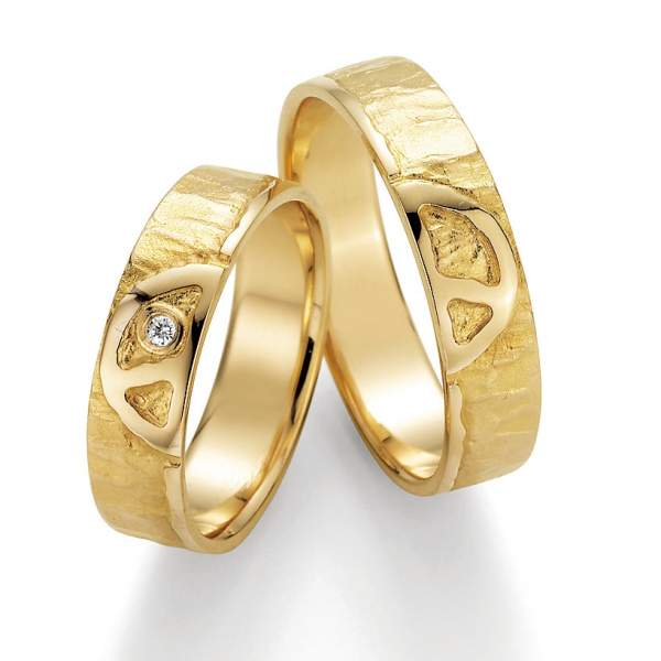 Trauringe Gold Signs of Love Brillant 66/51030