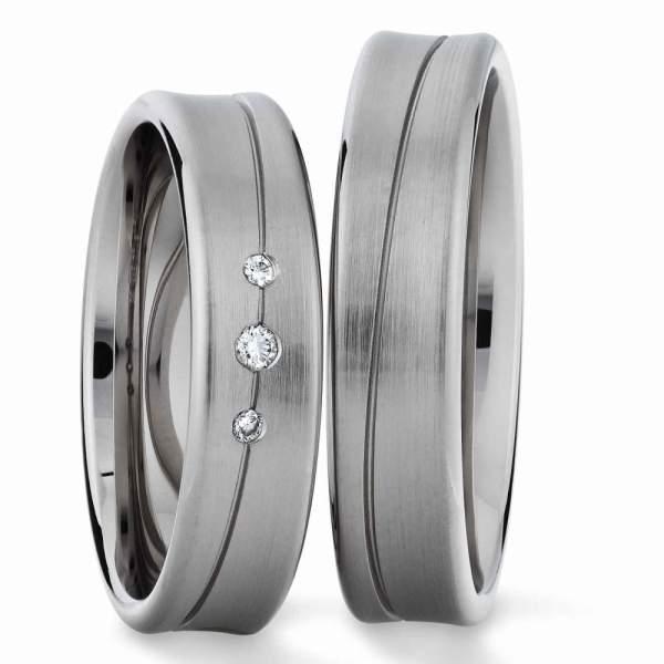 Verlobungsringe Silber Brillant 924631