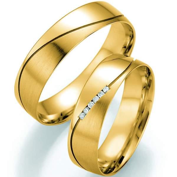 Trauringe Gold Honeymoon Pure Brillant 66-30130_GG