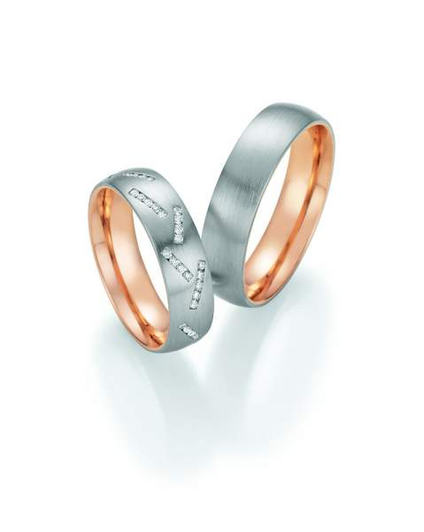 Trauringe Palladium Gold Honeymoon Premium Brillant 02-51030_GPD