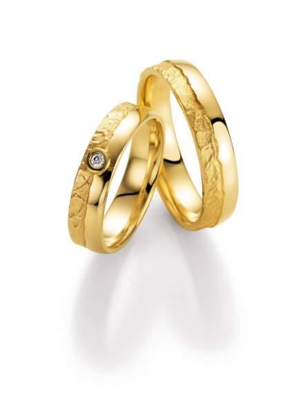 Trauringe Gold Honeymoon Vulcano Brillant 66-50110