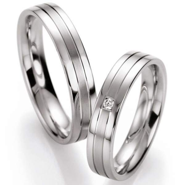 Verlobungsringe Silver Inspiration Brillant 55/10130