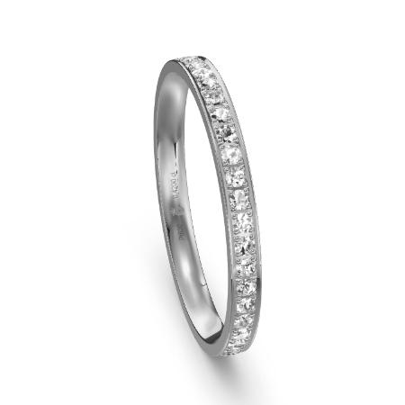 Memoire-Ring der Luxusklasse aus Platin