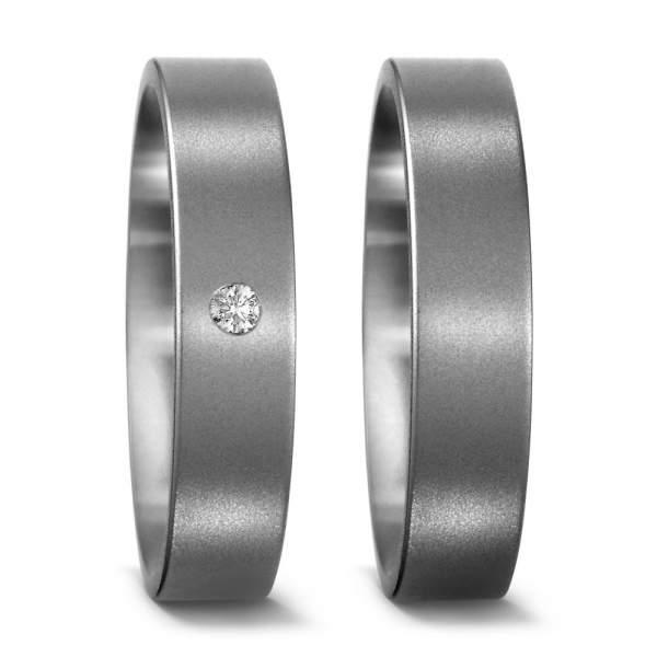 Verlobungsringe Brillant Titan Factory 50887