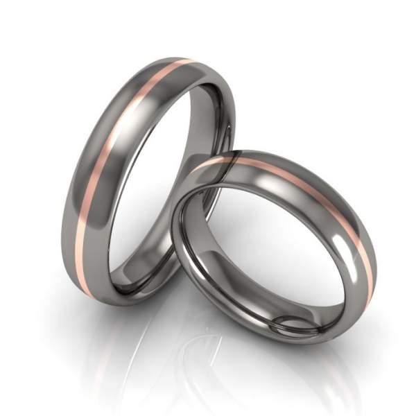 Verlobungsringe Titan Rotgold ID929