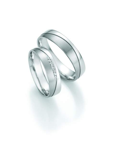 Trauringe Gold Honeymoon Solid Brillant 66-47130