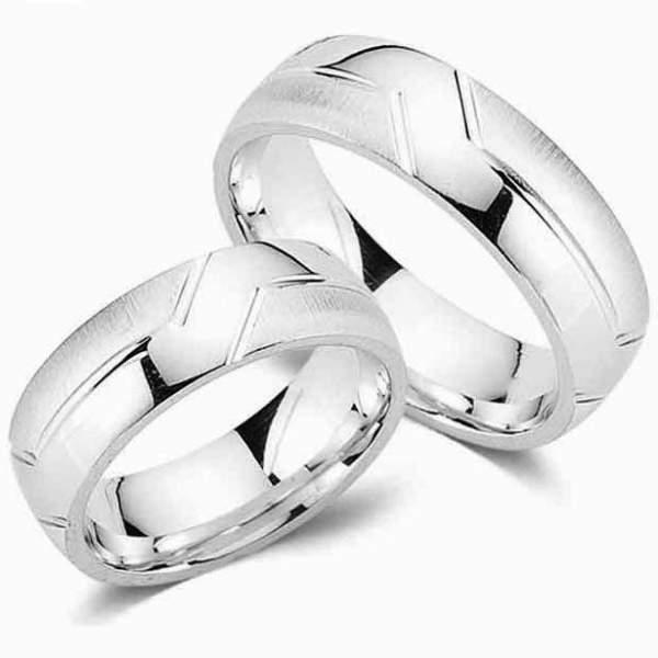 Verlobungsringe Silber Cilor G18
