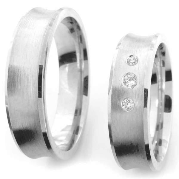 Verlobungsringe Silber Zirkonia Cilor CRG39