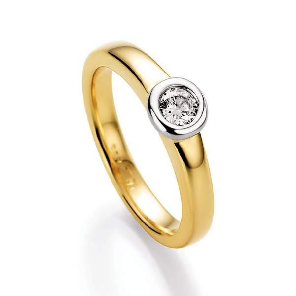 Antragsring Gelbgold Brillant 70-14330