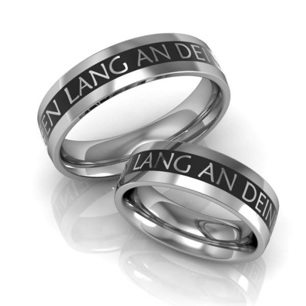 Verlobungsringe Silber ID1005