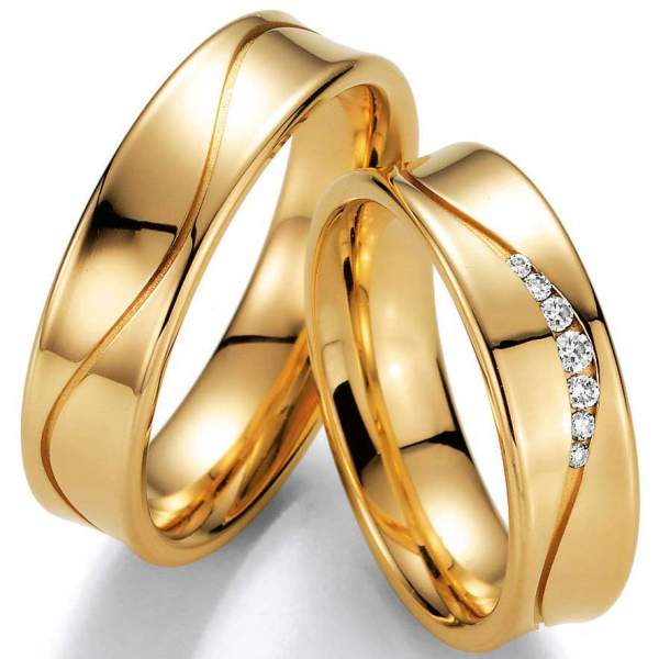 Trauringe Gelbgold Honeymoon 02-40710