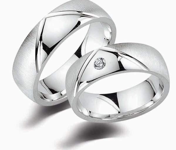 Partnerringe Silber Zirkonia Cilor G12