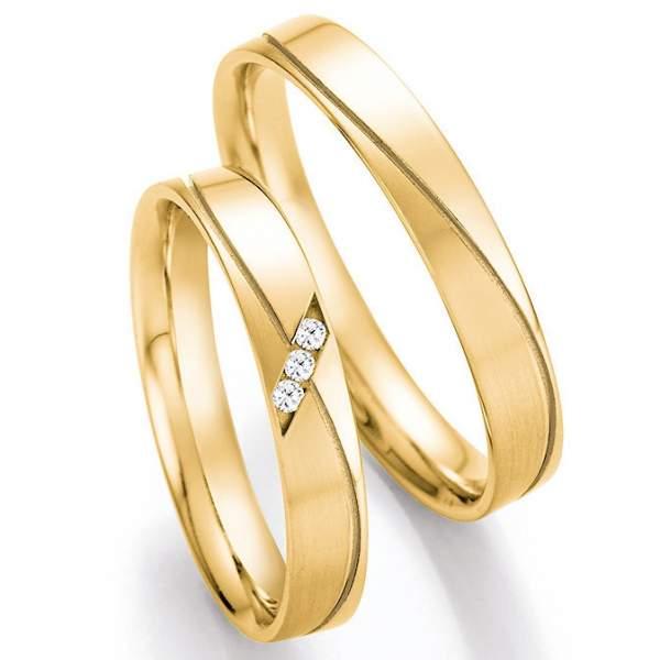 Trauringe Gold Honeymoon Pure Brillant 66-41010_GG
