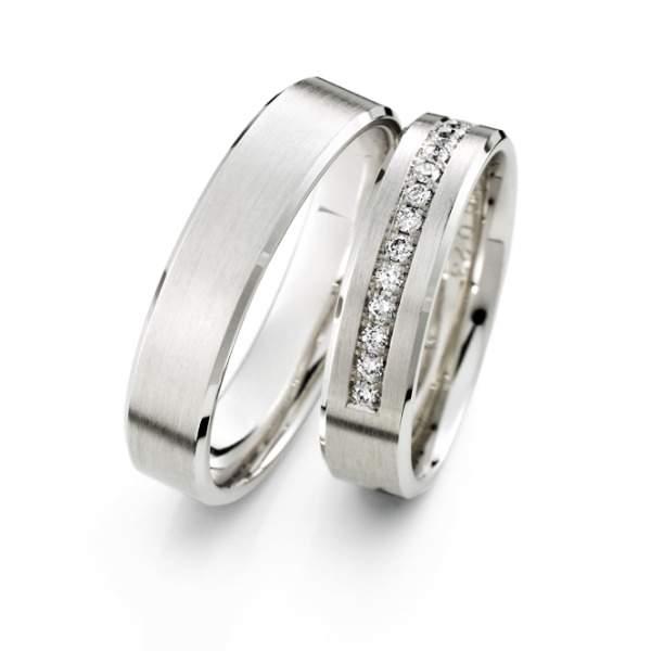 Verlobungsringe Silber Brillant Weidner 62627