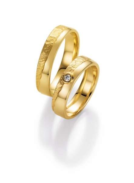 Trauringe Gold Honeymoon Vulcano Brillant 66-50170
