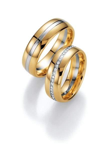 Trauringe Gold Honeymoon Premium Brillant 02-40170