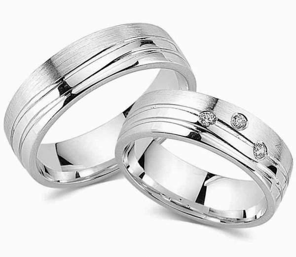 Verlobungsringe Silber Zirkonia Cilor G123