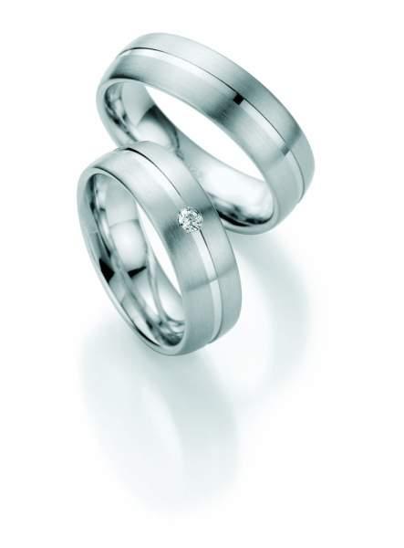Verlobungsringe Silber Brillant 55/01220
