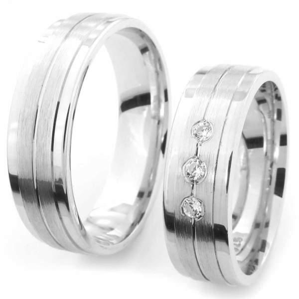 Verlobungsringe Silber Zirkonia Cilor CRG26