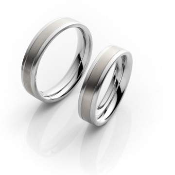 Verlobungsringe Steel Titan 68/06060