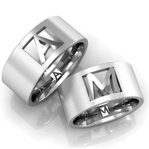 Verlobungsringe Silber ID675