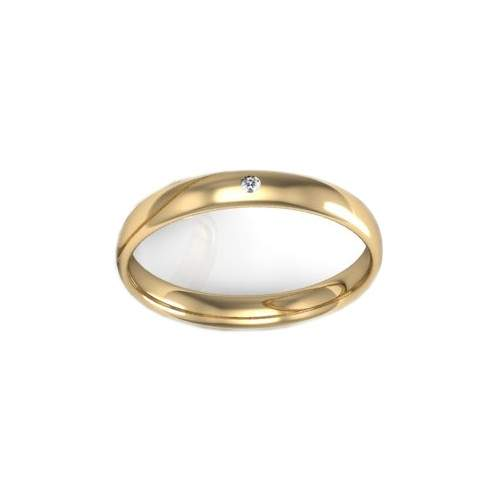 Antragsring Gold Brillant ID696