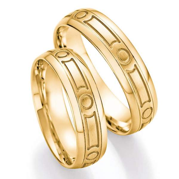 Trauringe Gold Honeymoon Solid 66-39160_GG