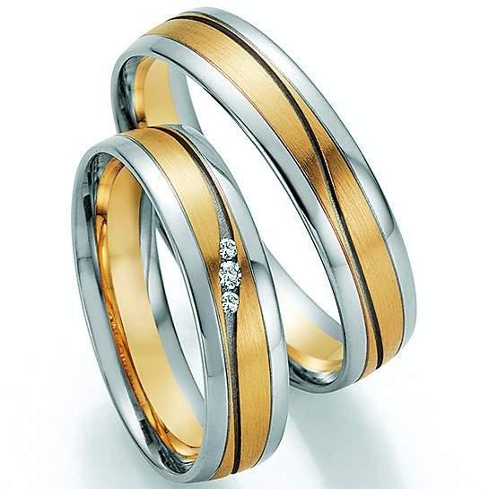 Trauringe Gold Honeymoon Pure Brillant 66-32050