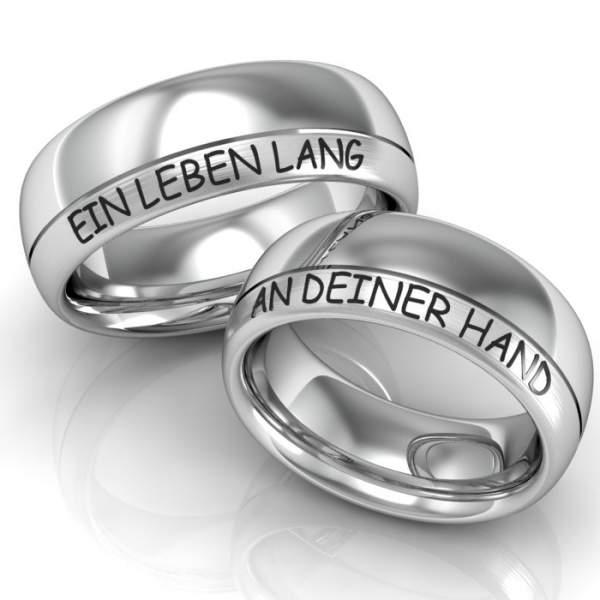 Verlobungsringe Silber ID252