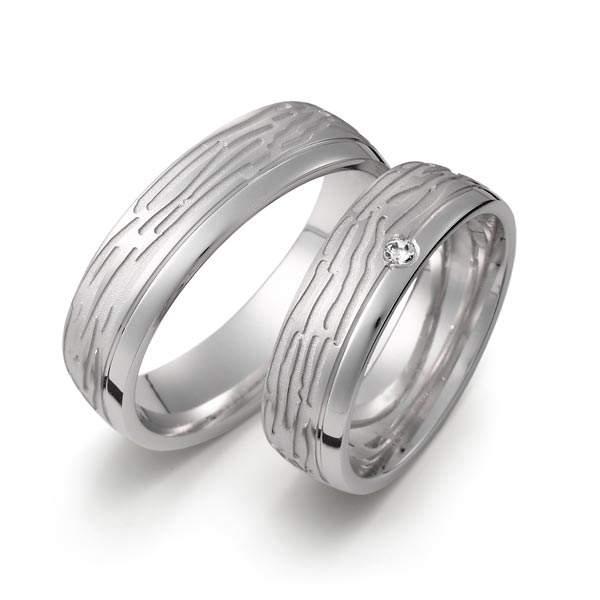 Verlobungsringe Silber Brillant Weidner 62155