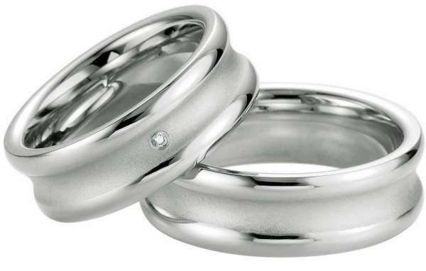 Verlobungsringe Silber Brillant Breuning 48/08041