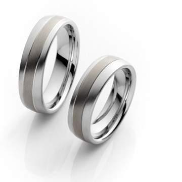 Verlobungsringe Steel Titan 68/06040