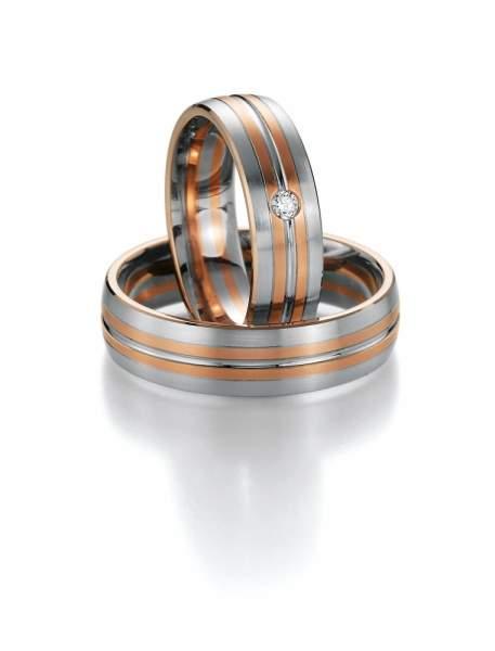 Trauringe Gold Honeymoon Premium Brillant 02-40430