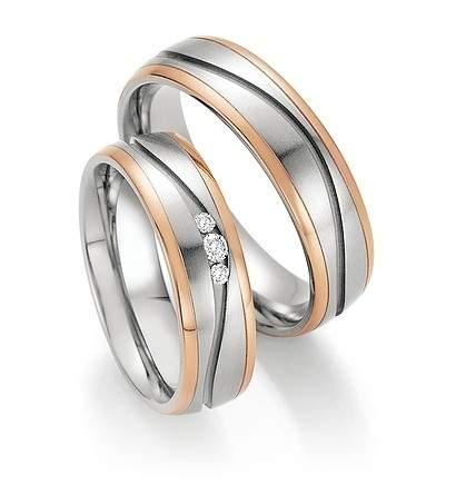 Trauringe Steel Gold Sensation Brillant 88-60170