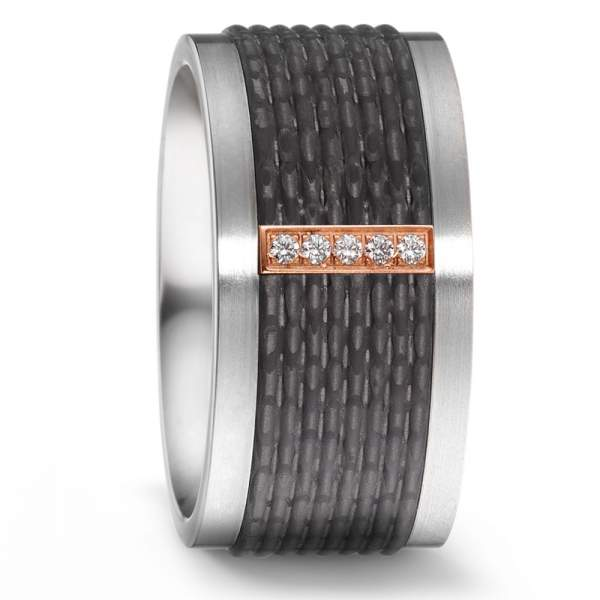 Antragsring Carbon Rotgold Titan Factory 52543