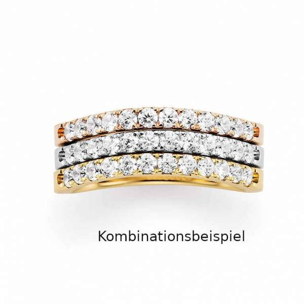 Beisteckringe Gold Marry Me Brillant 50-11037_GWR