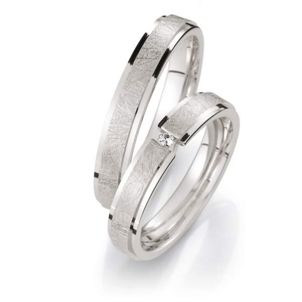 Verlobungsringe Silber Brillant Weidner 62043