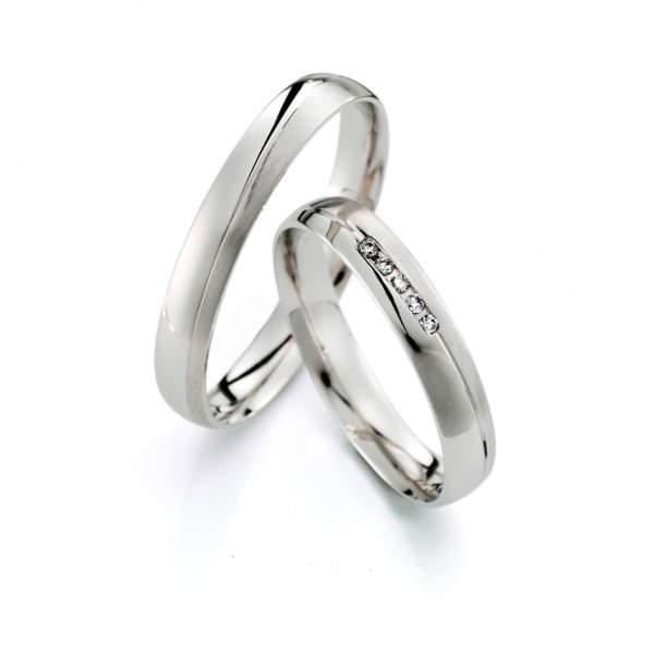 Verlobungsringe Silber Brillant Weidner 62609