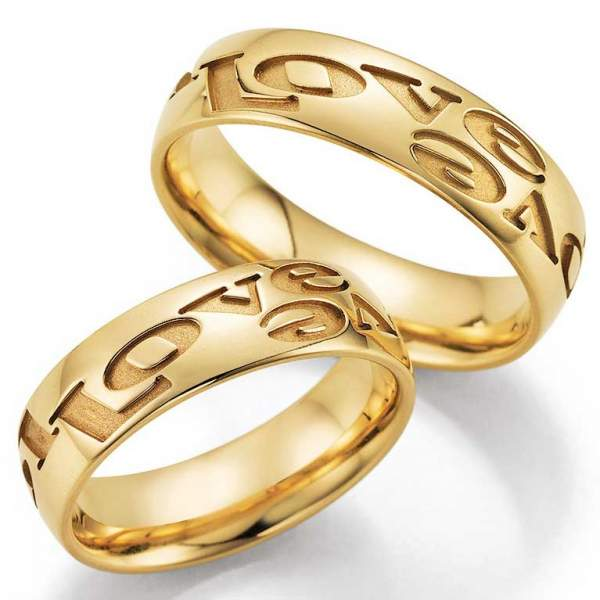 Trauringe Gold Hearts Love Infinity 66-38080